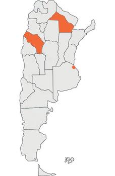 Las provincias participantes del 9no programa de Elemento Vital 2012