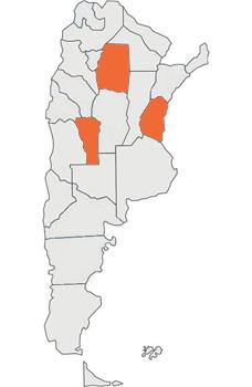 Participan de la 18va emision de Elemento Vital Santiago del Estero, Entre Ríos y San Luis